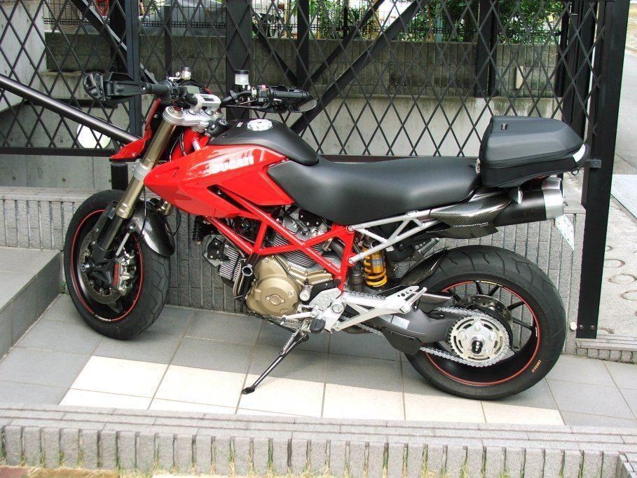Ducati Monster   Rear Rack