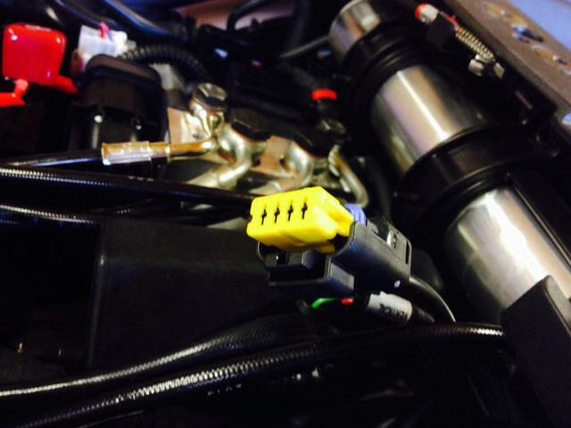 Ducati Streetfighter Diagnostic Plug