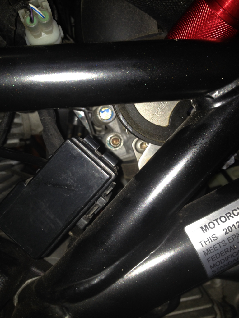 fuse box location on a ducati monster motorcycle fuse box