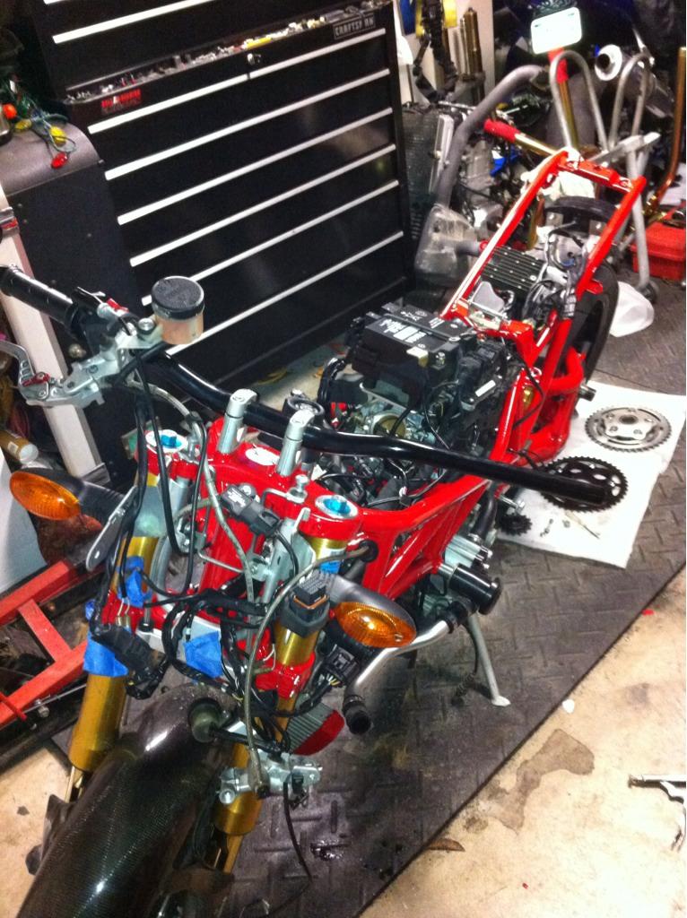 08 Monster Bike Rebuild