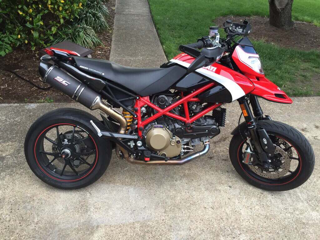 2012 Hypermotard 1100 Evo Sp Corse Edition Ducati Ms