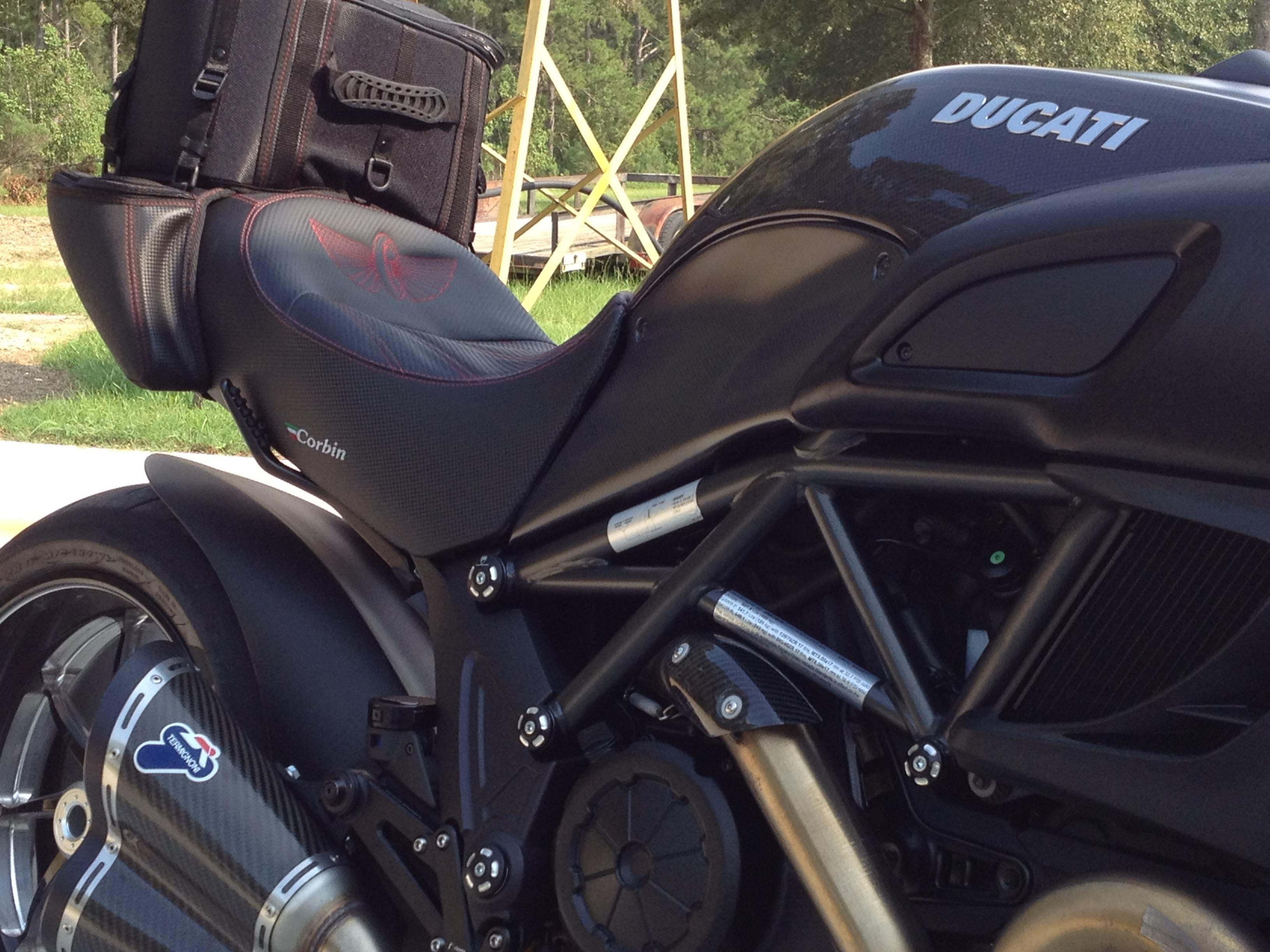 Ducati Backrest