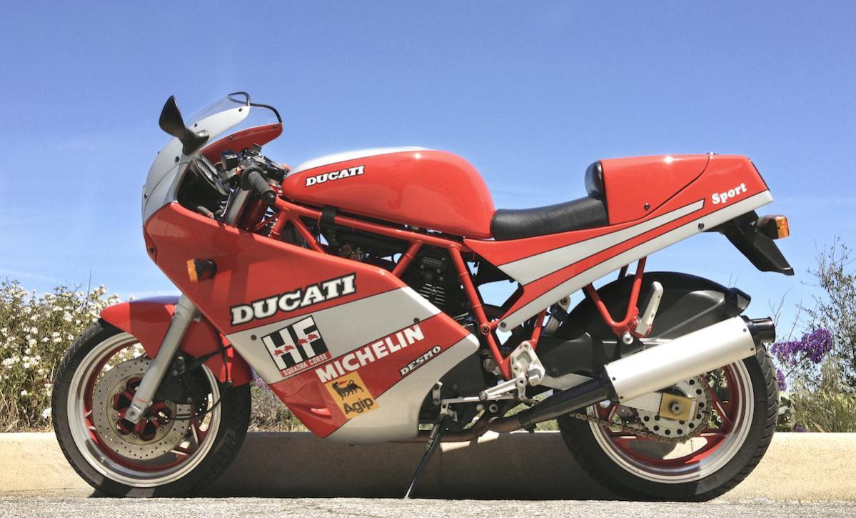 Anthony Godin | Ducati 750 Sport