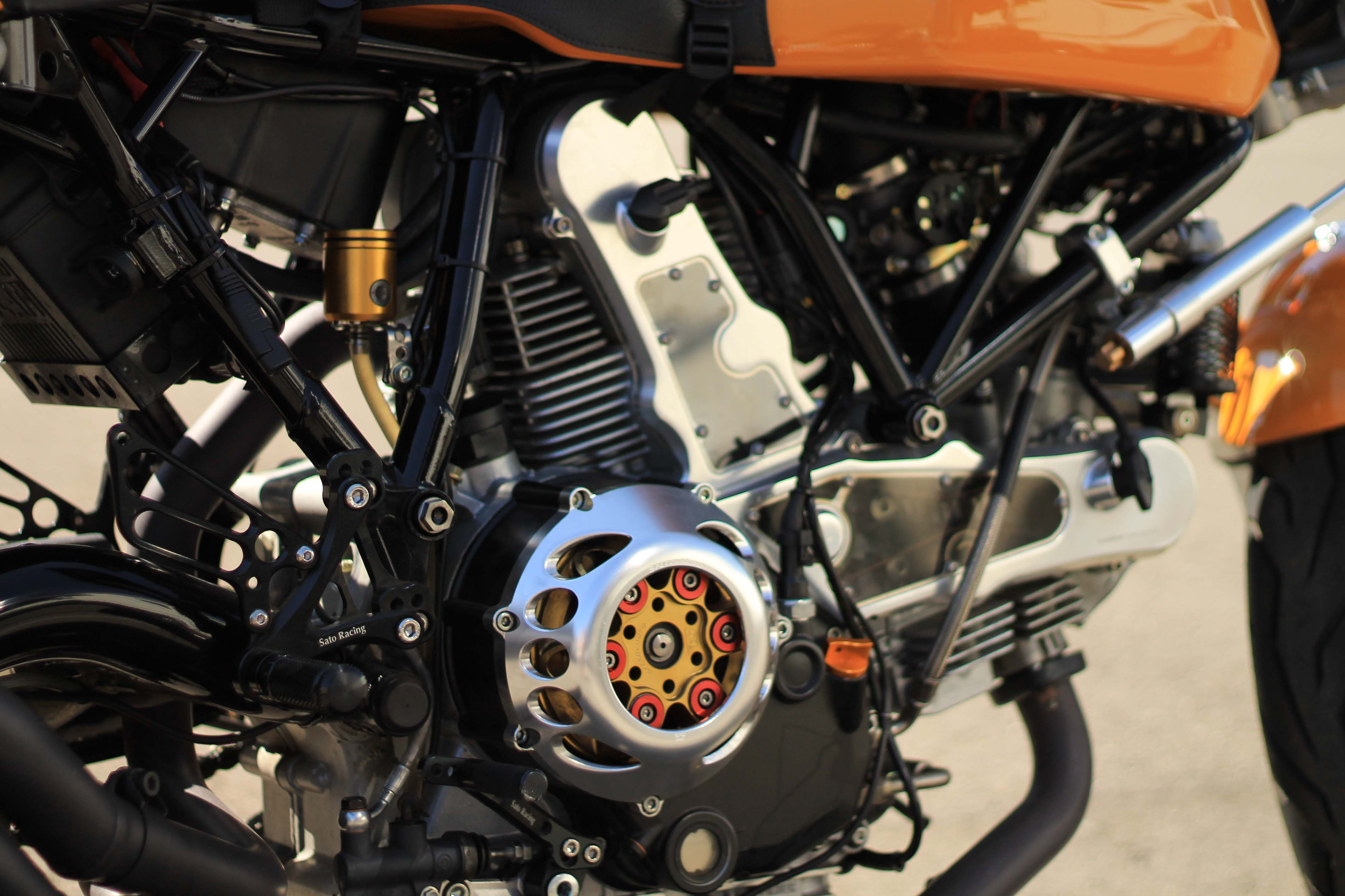 Ducati Monster Timing Chain Conversion