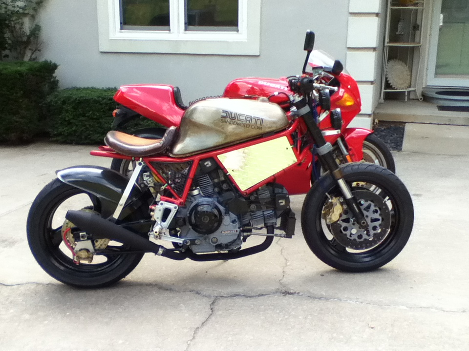 750ss cafe racer project - page 10 - ducati.ms - the ultimate
