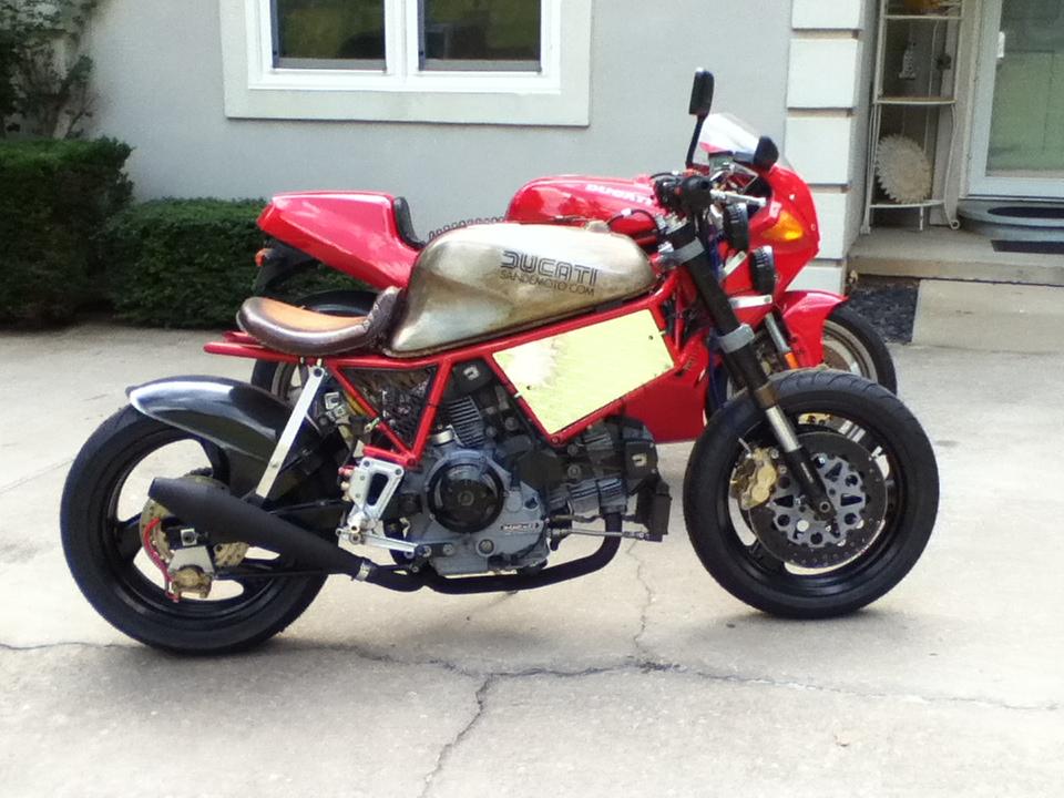 Ducati Paso Frame