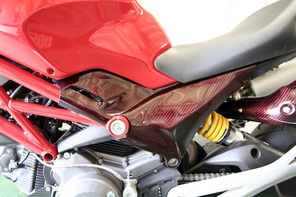 New Monster 696 1100 Carbon Fiber Parts Ducati Ms The