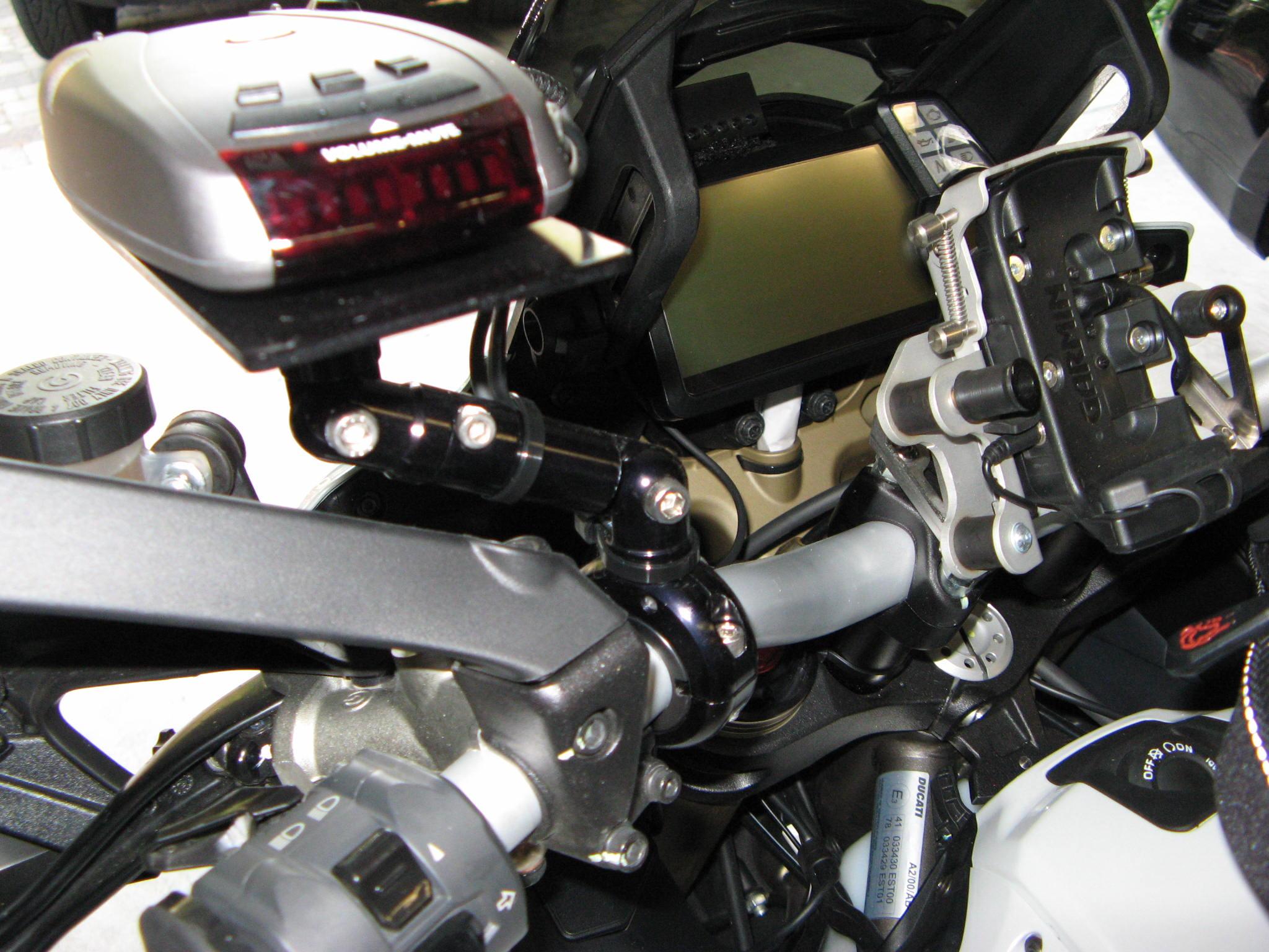 Radar Detector Mount Ducati Ms The Ultimate Ducati Forum