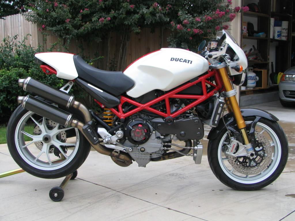 Ducati Monster Dropped