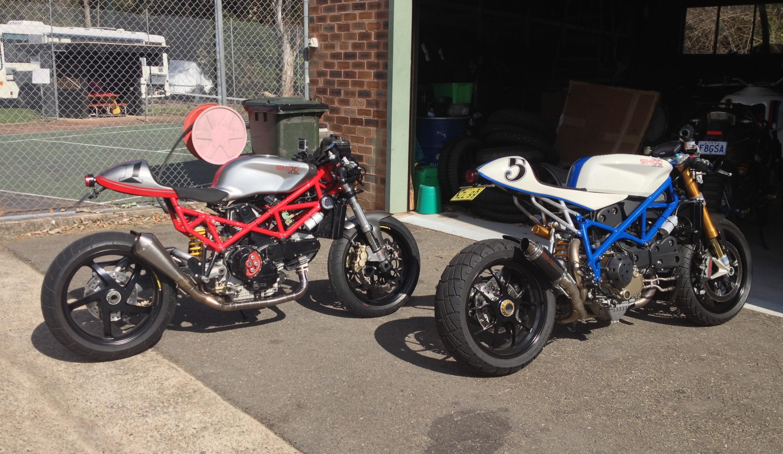 Ducati 848 Cafe Racer Kit