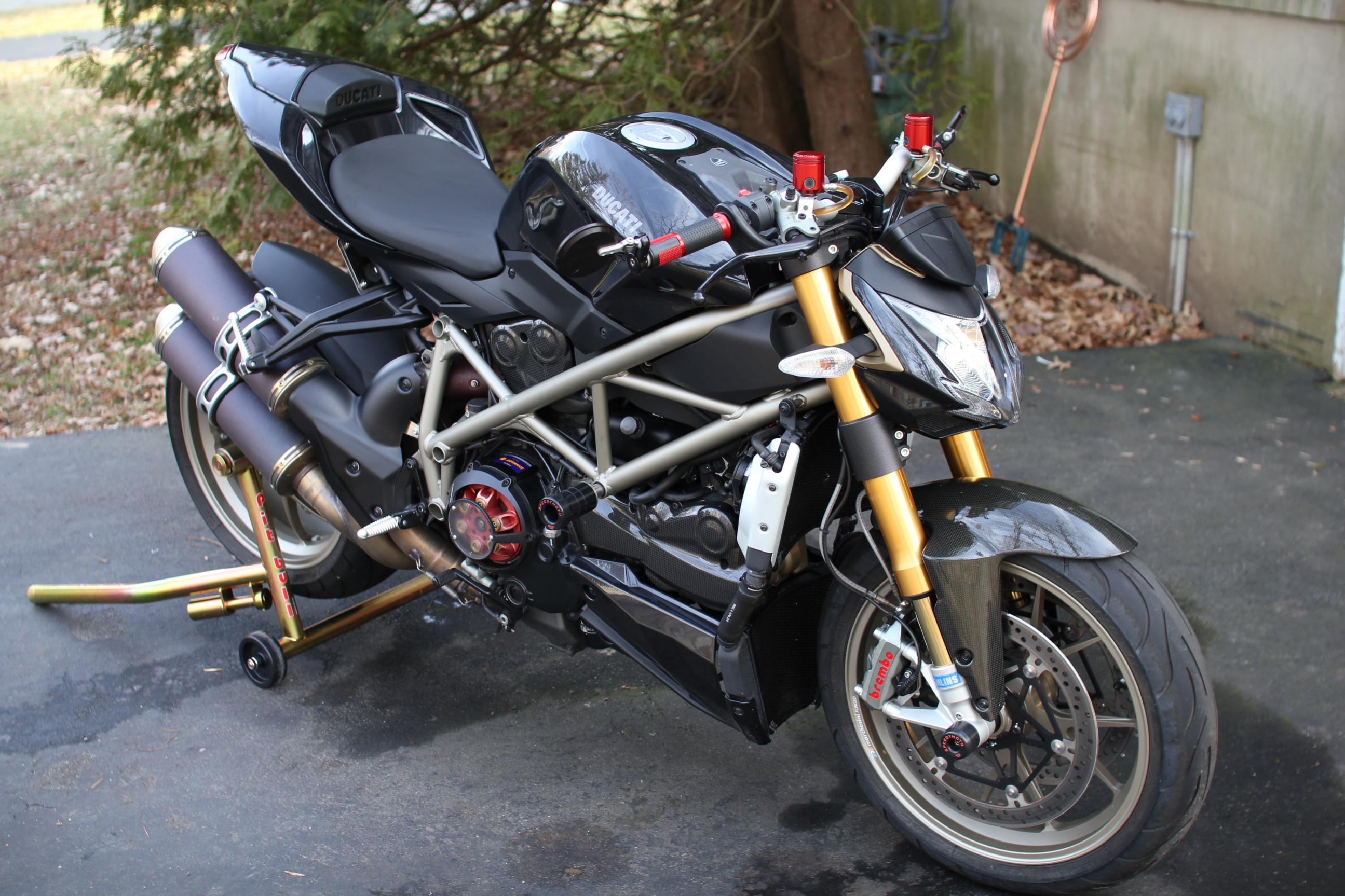 Ducati Streetfighter Black Black Ducati Streetfighter s