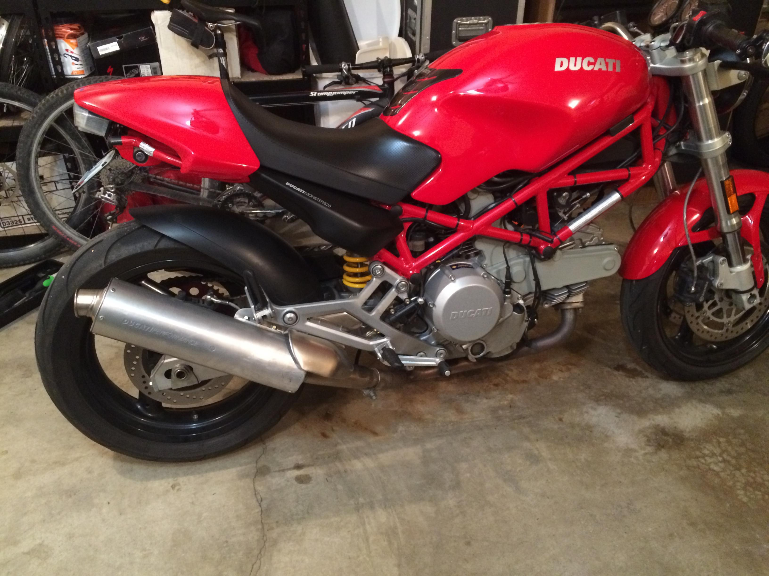 2005 ducati monster 620ie the ultimate ducati forum. Black Bedroom Furniture Sets. Home Design Ideas