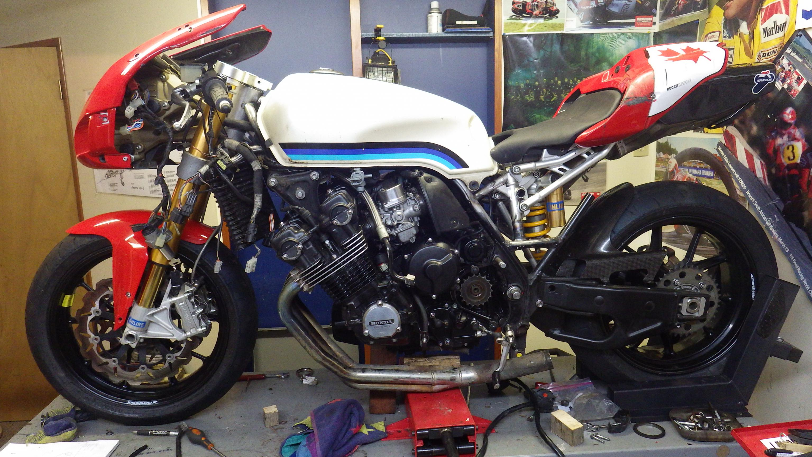 """ducati 749 """"cafe"""" racer- build thread - page 3 - ducati.ms - the"""