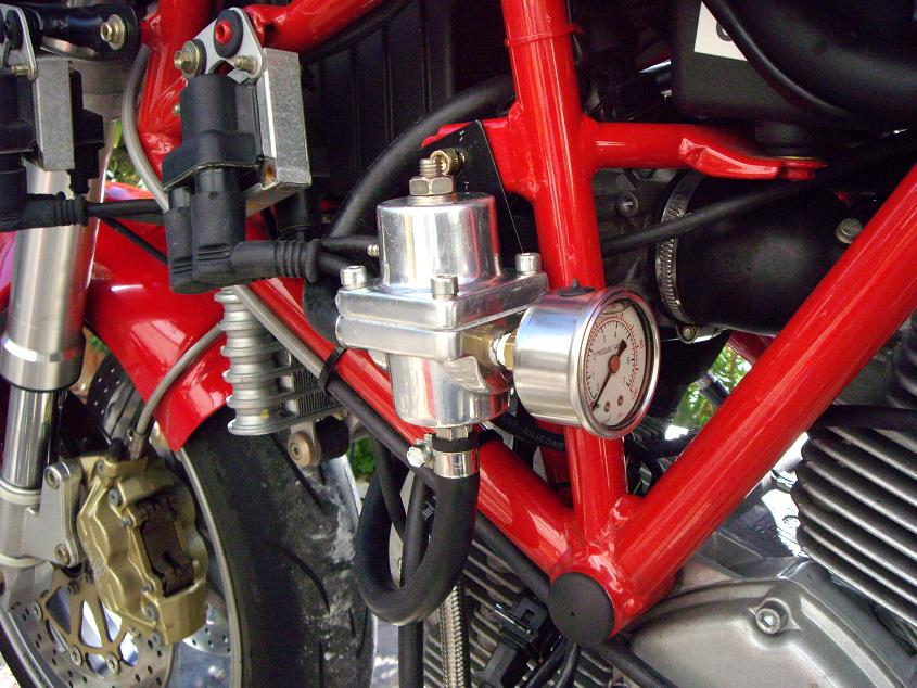 High Flow Fuel Pump & 4BAR Pressure Regulator - Ducati ms