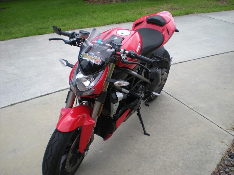 Ducati Streetfighter Windscreen