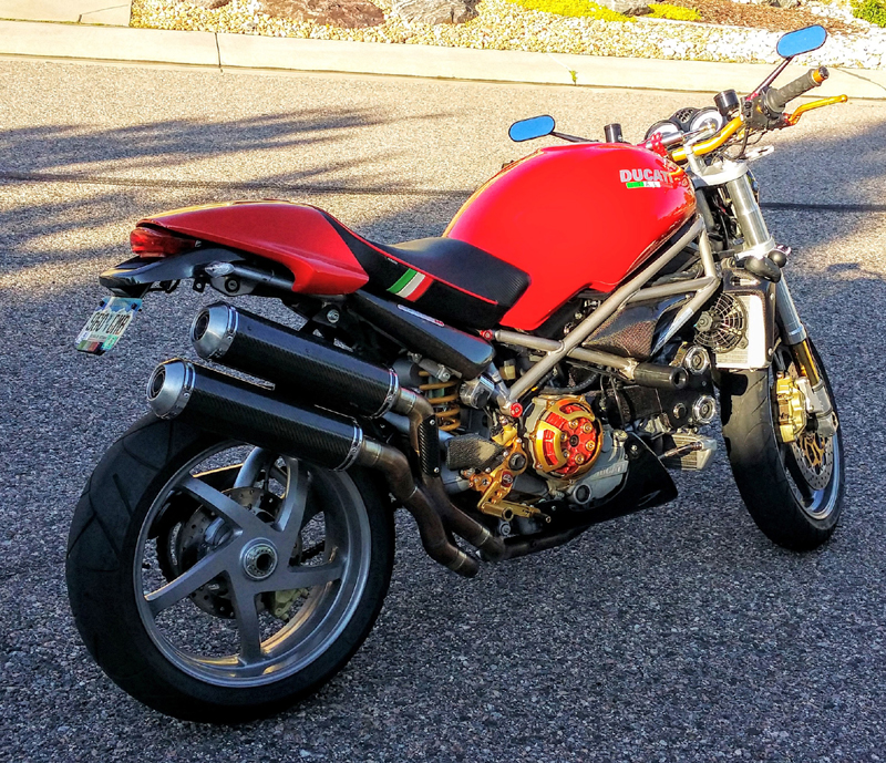 2004 S4R (Desmo) backfiring into carbs in low rpm's - Ducati