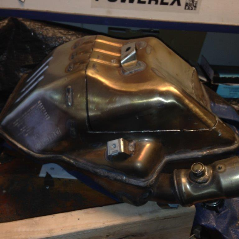 Ducati Multistrada Removing The Cat From Your Standard Muffler