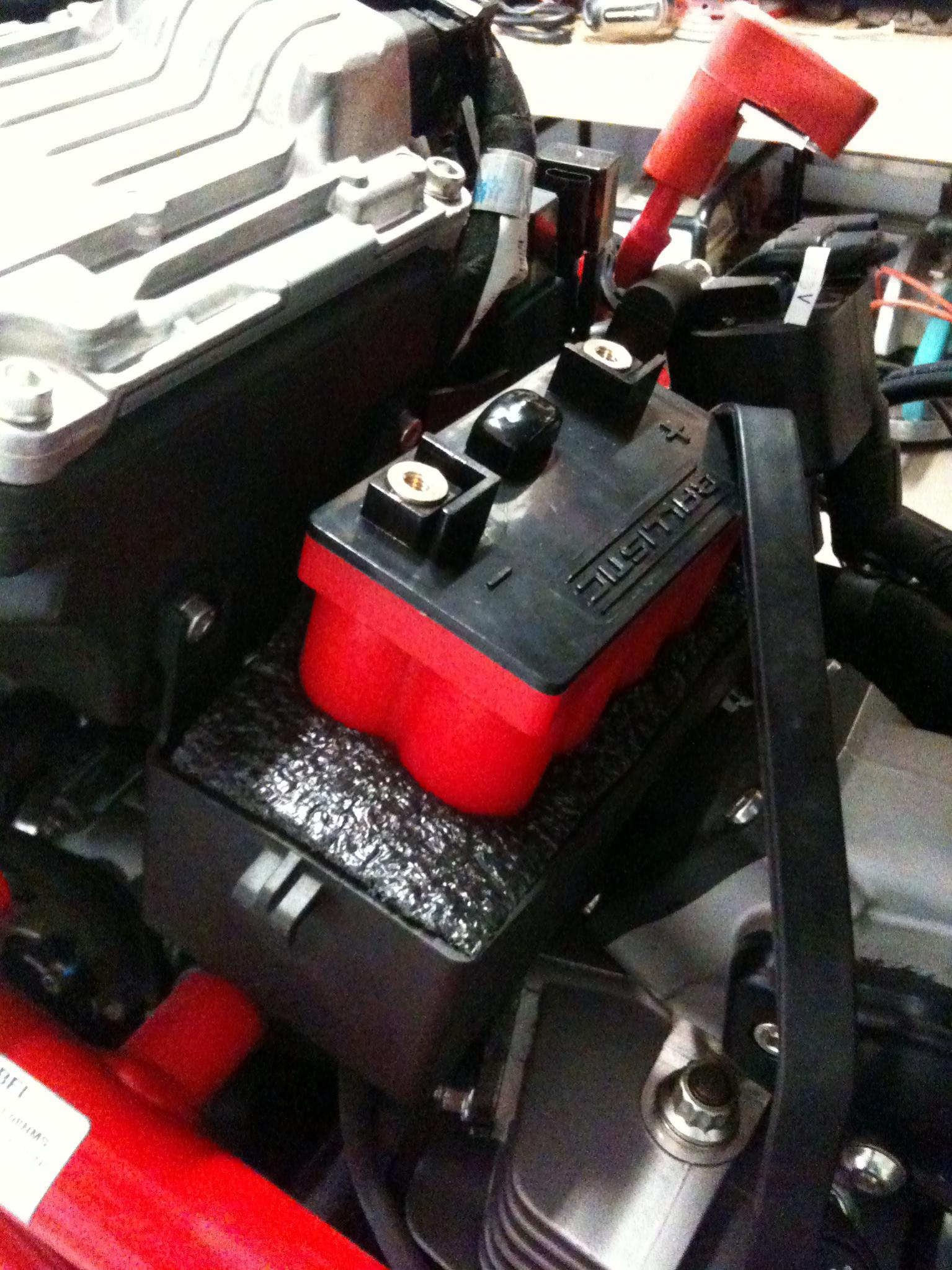 Ducati  Battery Cable Upgrade