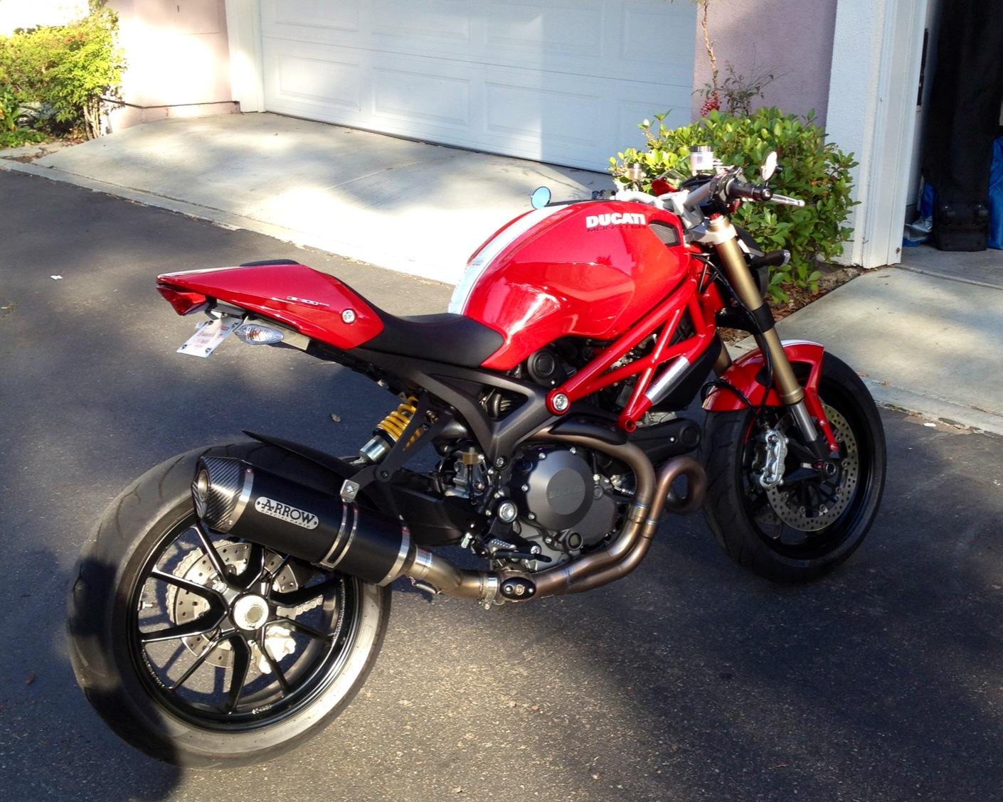 Red Pazzo Ducati Monster