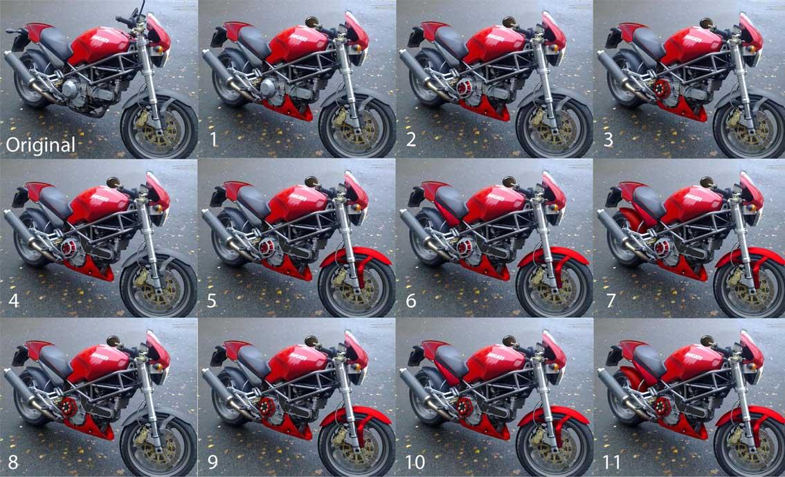 personalizing my monster m900 - ducati.ms - the ultimate ducati forum