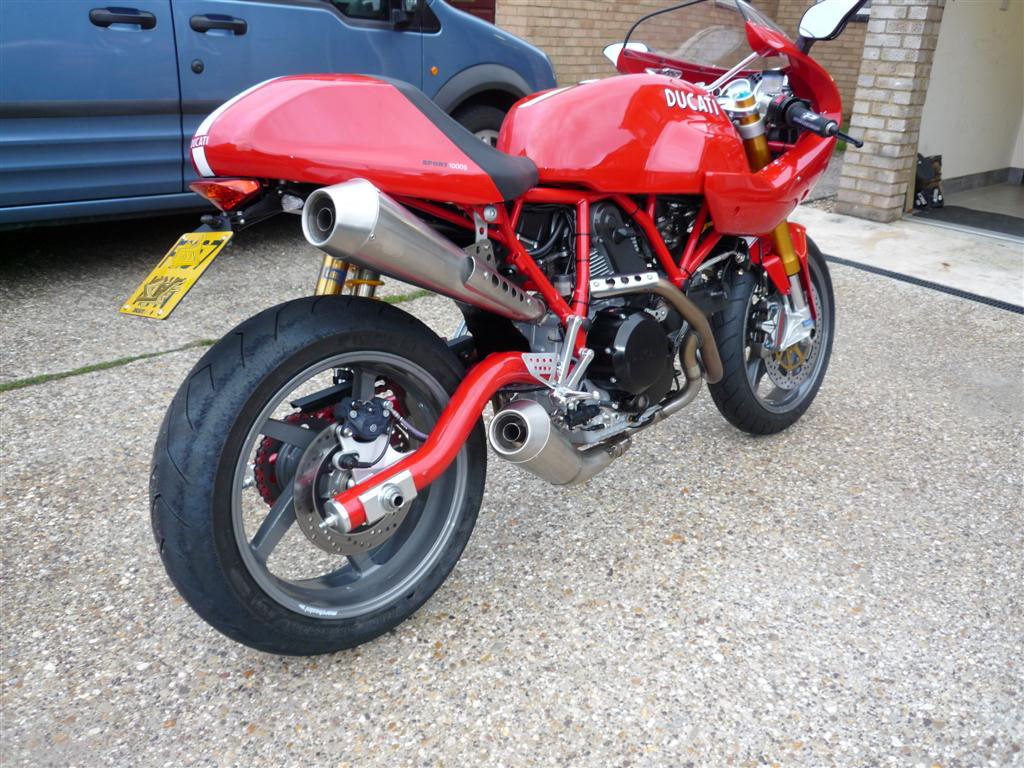 Looking for owner of this bike: Red S1K turned into an