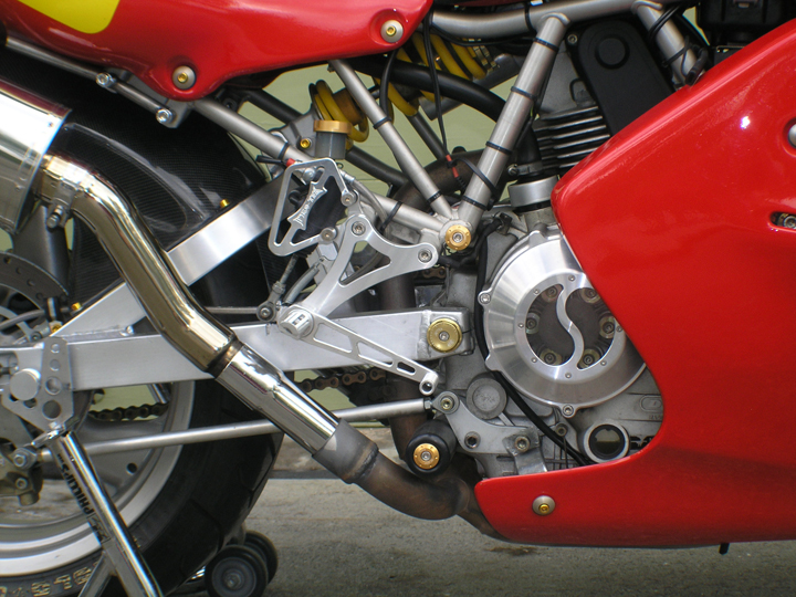 Super mono project starting on Maui - Ducati ms - The