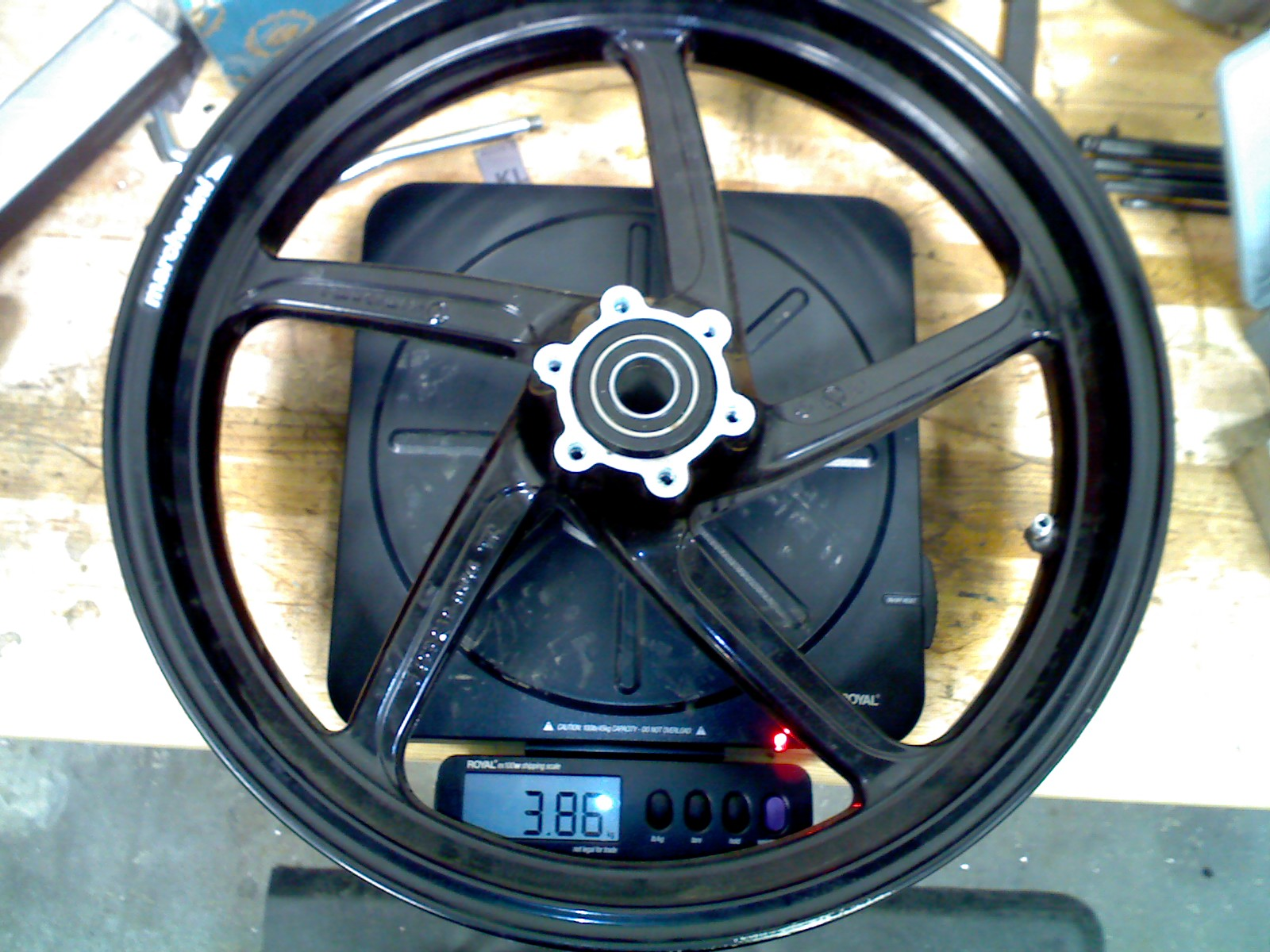 Forged aluminum wheels which