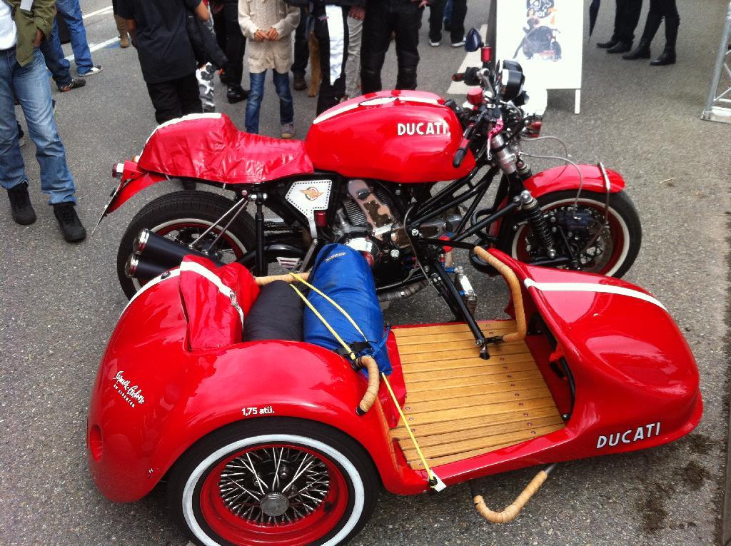 Sportclassic With Sidecar At Glemseck 101 Stuttgart