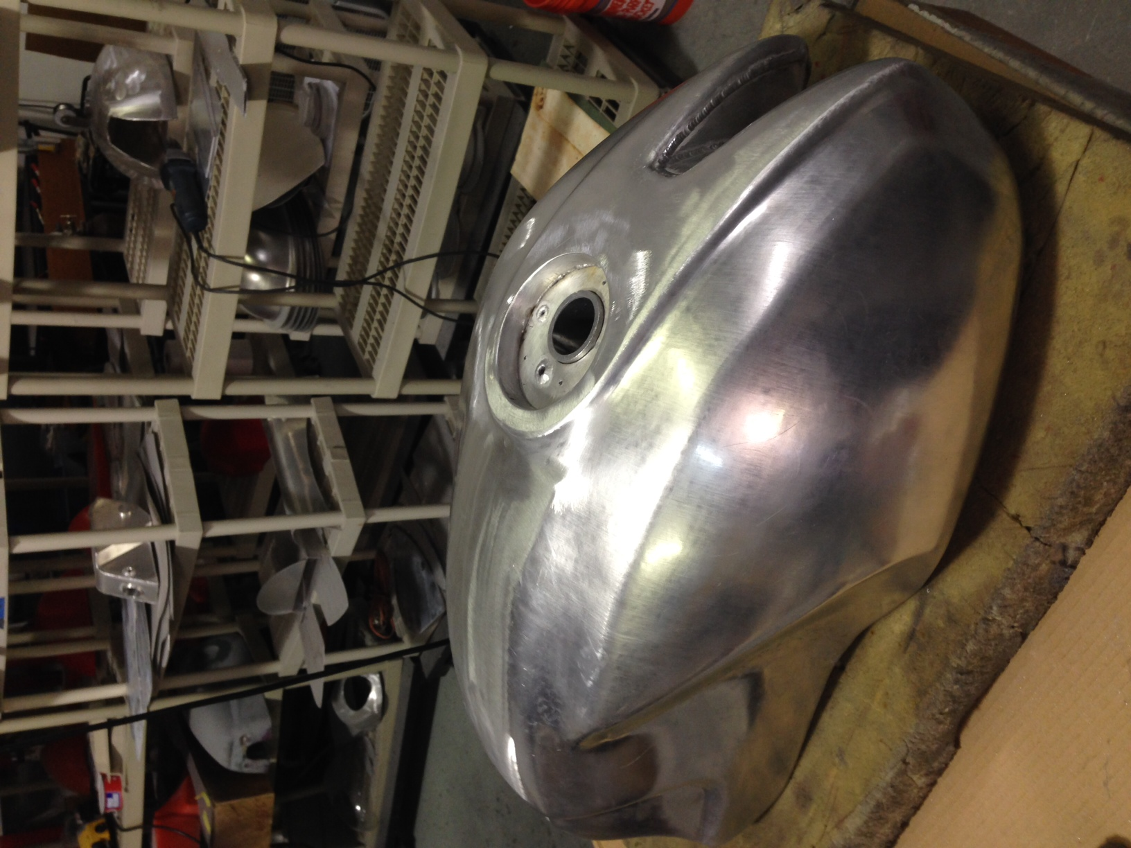 Aluminum Tank For S2r And S4r Ducati Ms The Ultimate