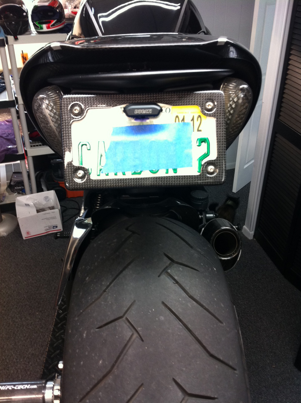 License Plate Holder Page 2 Ducati Ms The Ultimate