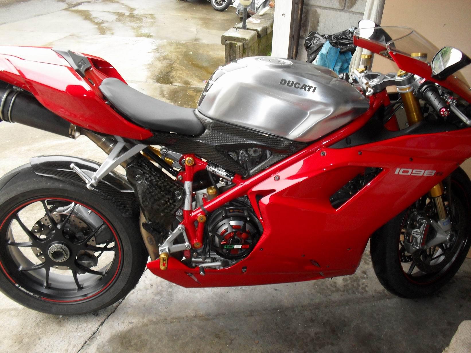 Ducati Monster Aluminum Gas Tank