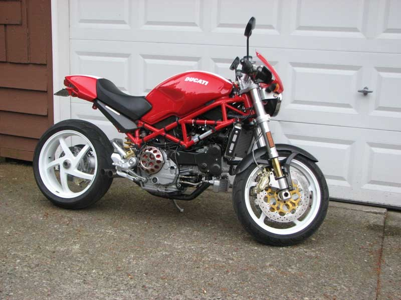 Ducati Monster   Stock Tire Size
