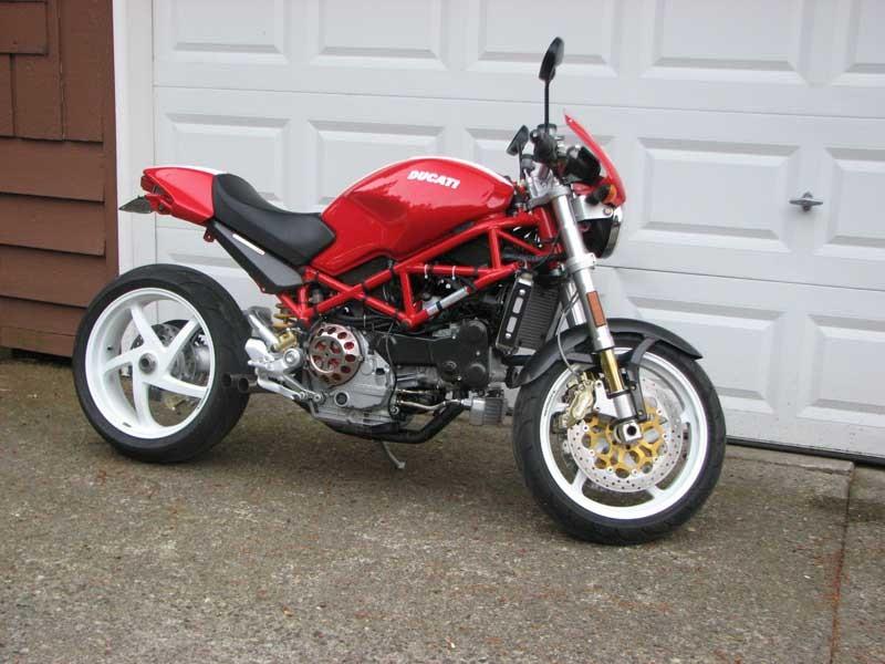 Ducati Monster Starter Removal
