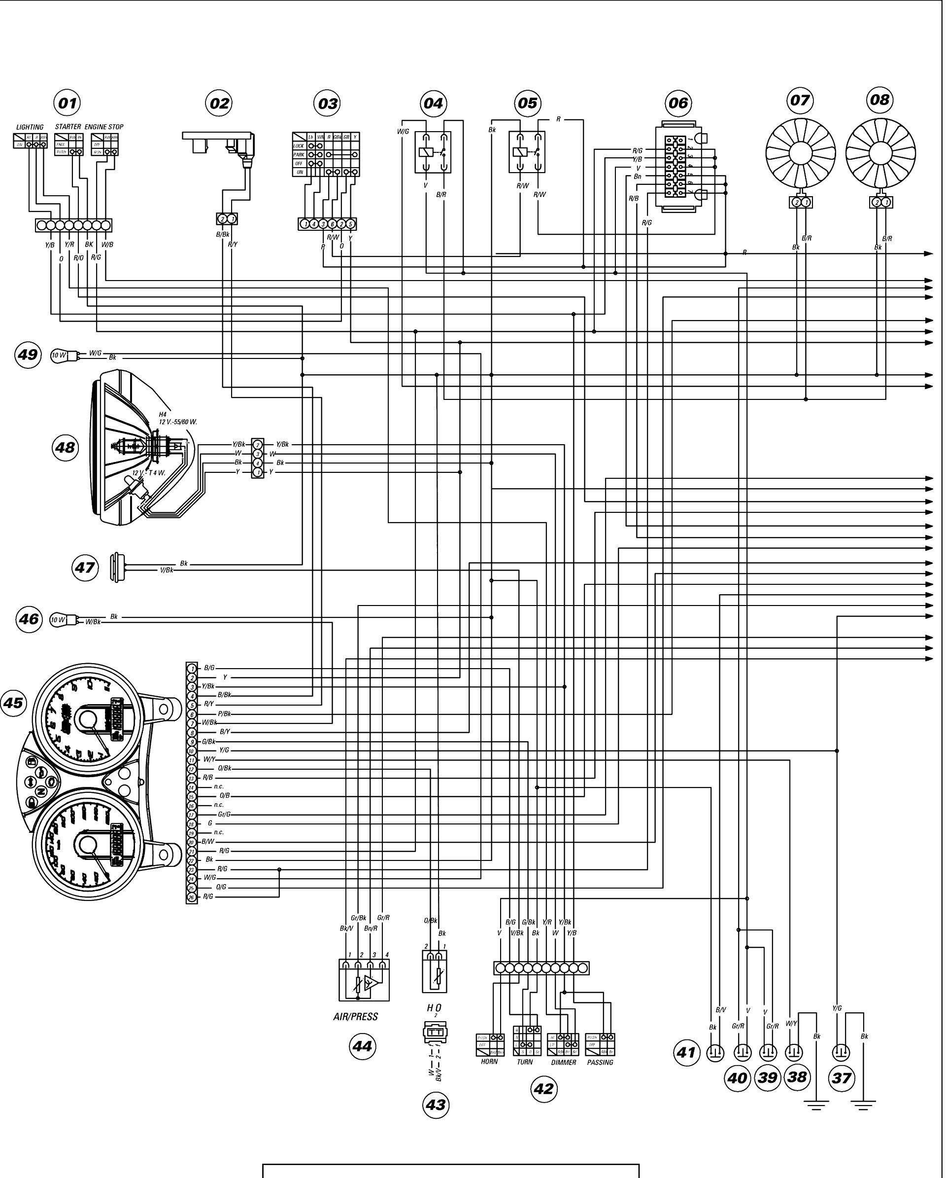 Ducati 796 Wiring Diagram House Symbols For 860 Gt Electrical Images Gallery