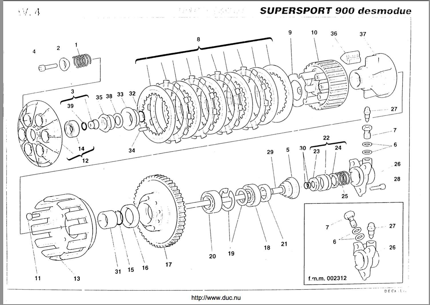 Help   Dry Clutch    - Ducati Ms