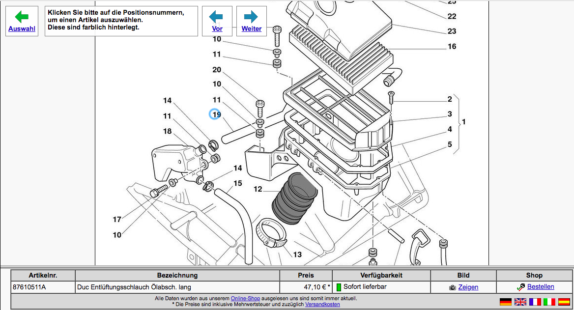 99 Monster Parts Diagram  - Ducati Ms