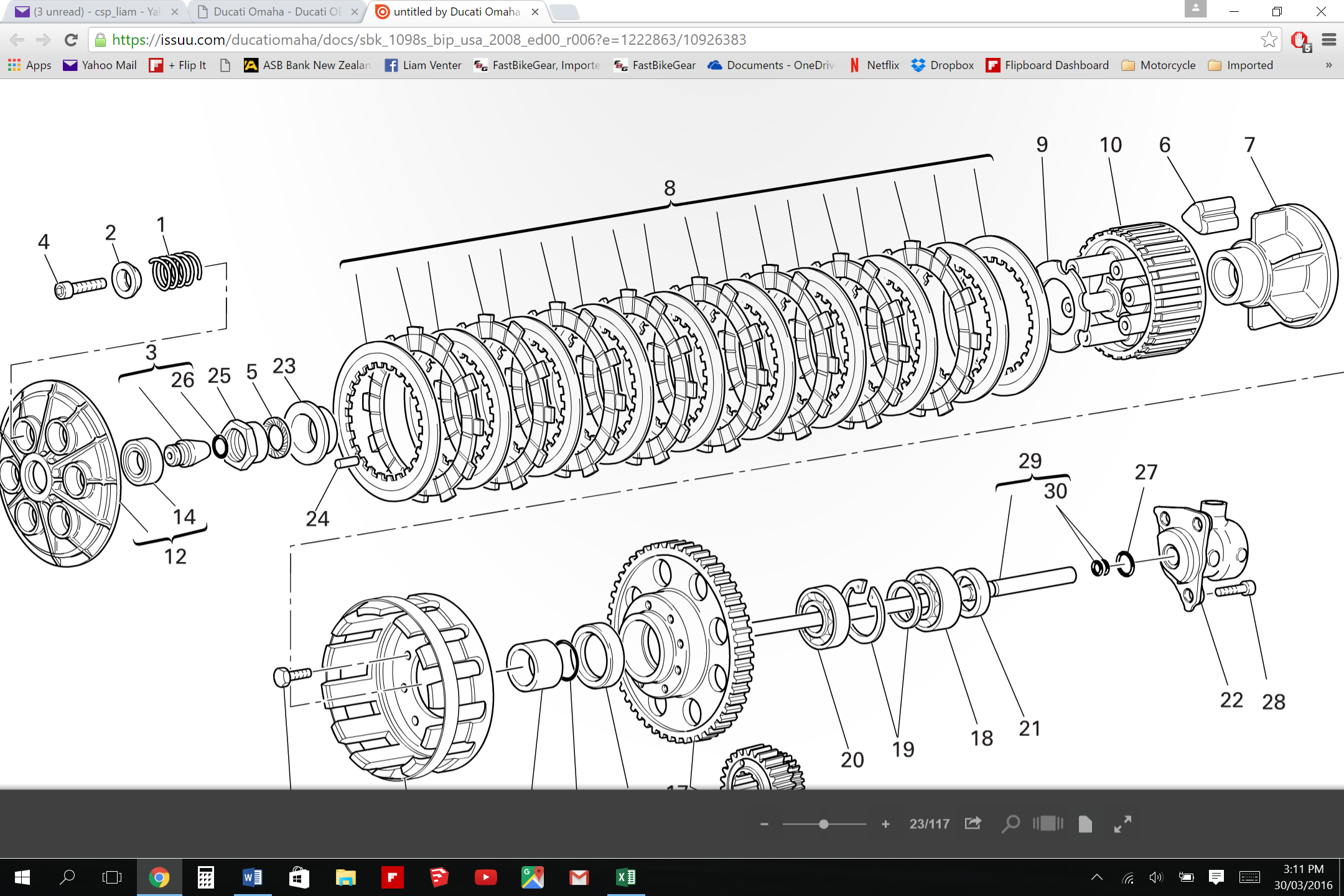 1098 clutch plate sequence - page 3 - ducati ms