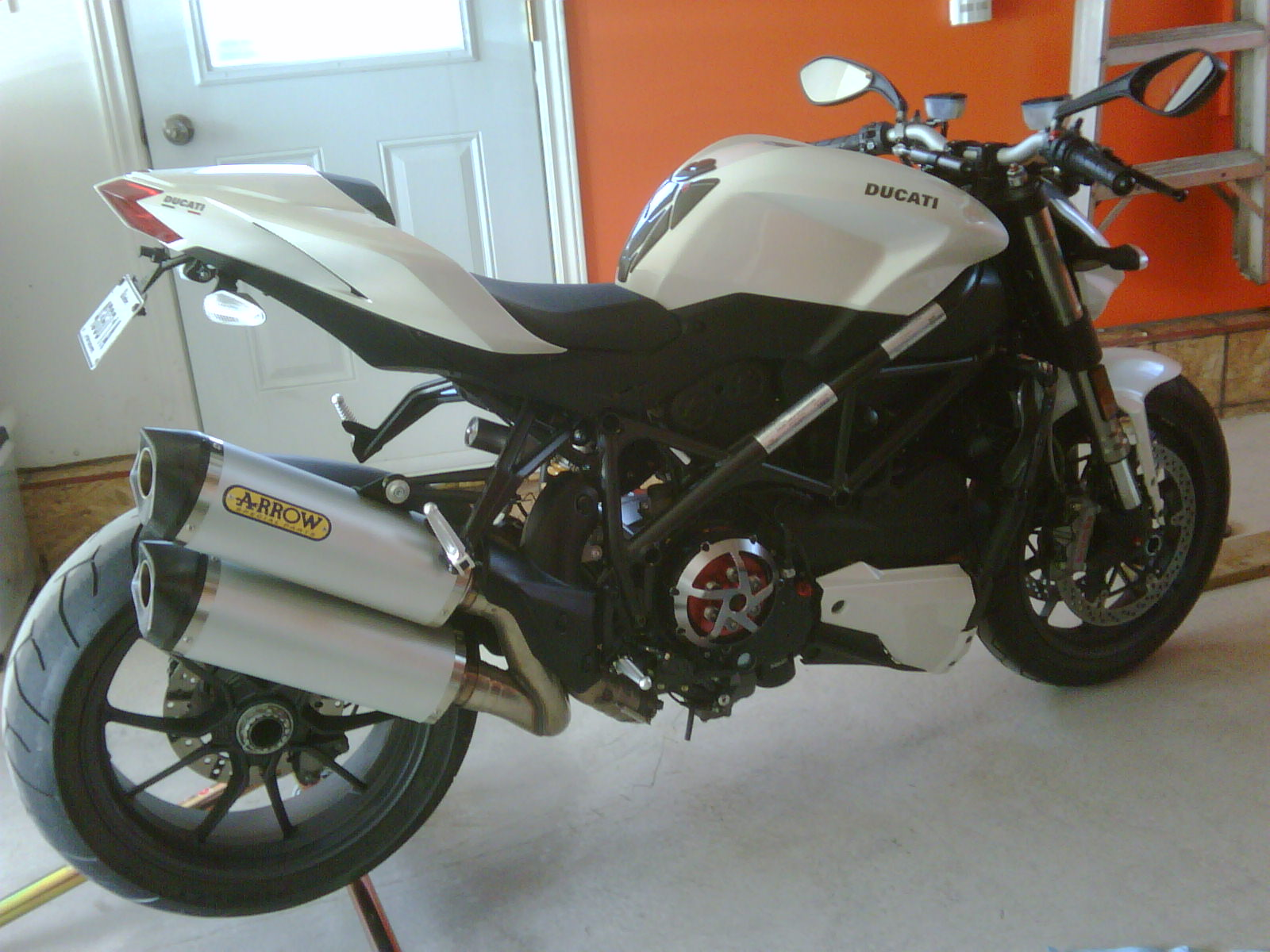 arrow exhaust installed (with vid) - ducati.ms - the ultimate