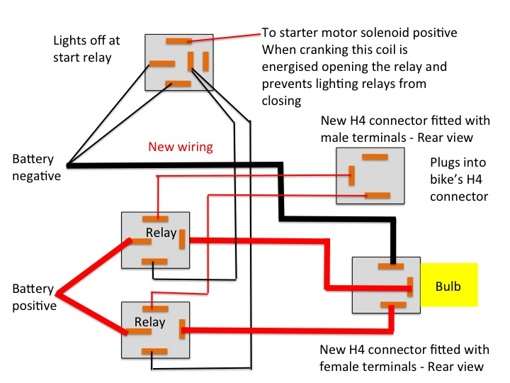 early st2 heavier headlight wiring  relays page 2