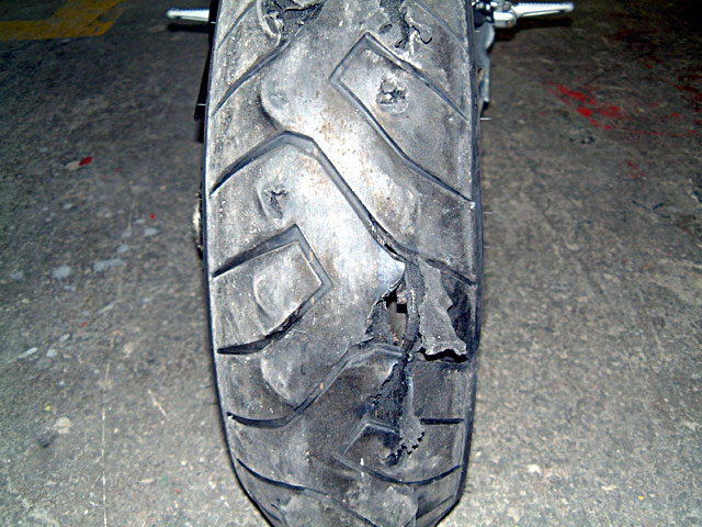 Nail In My Tire -Can I Plug? - Ducati.ms - The Ultimate ...
