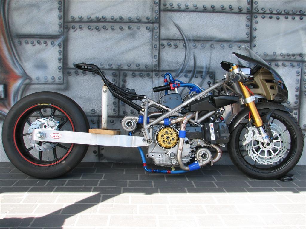 Ducati 749R Twinturbo Dragbike