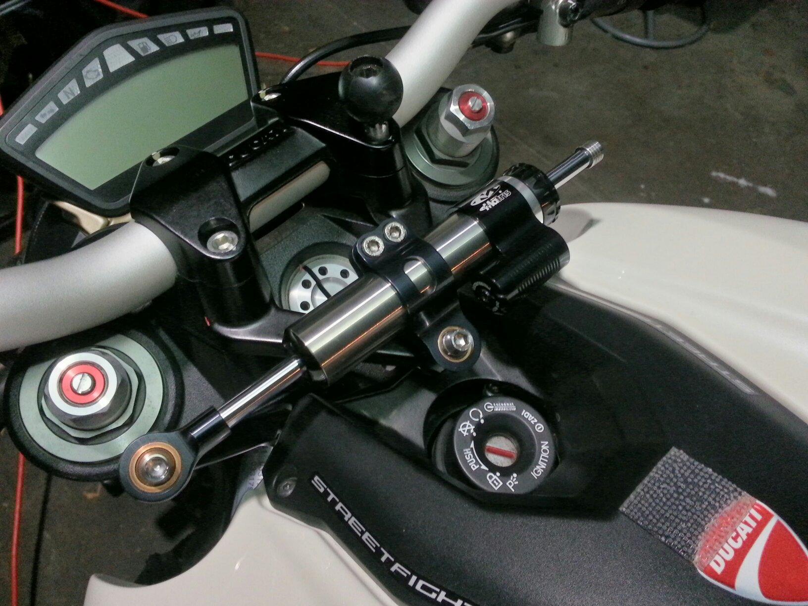 Matris Steering Damper Ducati Monster
