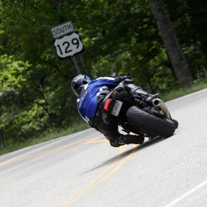 Me on the zx10r at the Gap. That bike was scary fast.