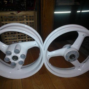 Powder coated 3/14 for about $200.00