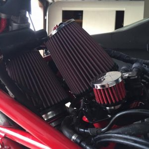 Corse dynamics intakes