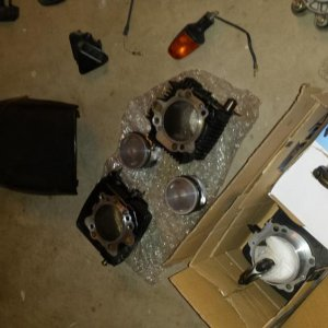 cylinders with pistons and pins and rods. cylinders with pistons and pins. OEM seat
