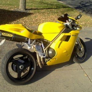 98 Ducati 916  bought in maple grove mn