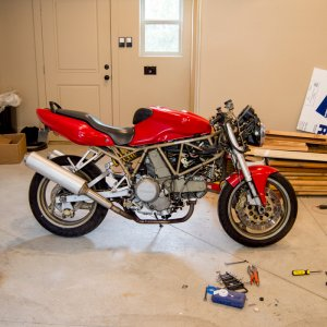 1999 Ducati 750 Supersport