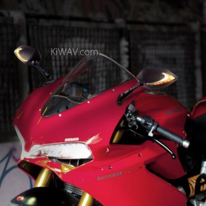 Ducati 1299 PanigaleS Mirrors: Lucifer Buy from kiwavmotors.com
