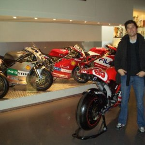 Taking my Trip To Mecca. (THE DUCATI HEADQUARTERS)